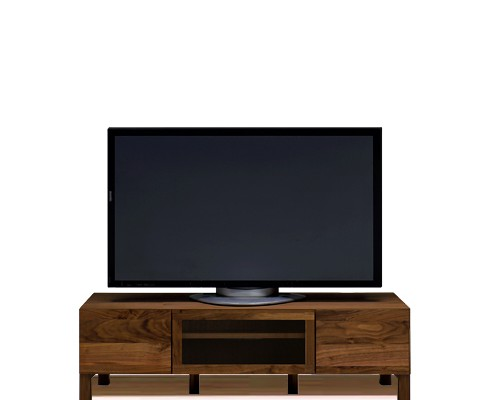 120テレビボード透明