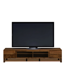 164テレビボード透明